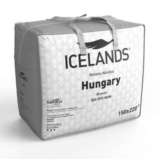 Relleno nórdico Hungary 400 gr 160/180 cm Icelands