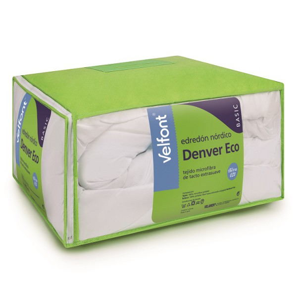 Relleno nordico Denver Eco 125gr 160/180 cm Velfont