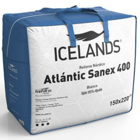 Relleno nórdico Atlantic Sanex 400 gr 160/180 cm Icelands