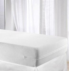 Funda de colchon algodón rizo elástico 135 cm Velfont