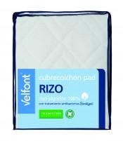 Cubrecolchon Pad Rizo reversible  90x200 cm Velfont
