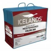 Relleno nordico Mediterraneo Color 350gr 160 180 cm Icelands