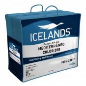 Relleno nórdico Mediterráneo Color 350gr 160/180 cm Icelands