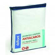 Protector de colchon 60x120 Cuna Rizo Antiacaros VELFONT