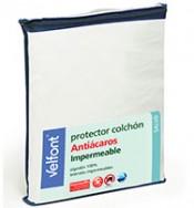 Protector de colchon 105 Antiacaros Impermeable VELFONT