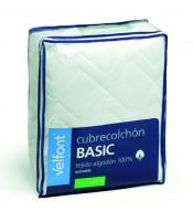 Cubrecolchon Basic Reversible  90x200 cm Velfont